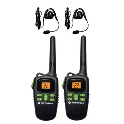 Imagen de Handies Walkie Talkie Motorola Md200mr Con 2 Manos Libres