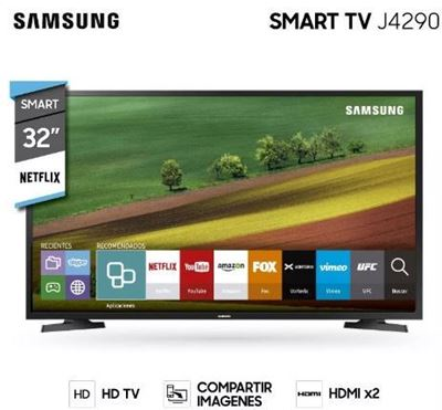 Imagen de Smart Tv Led Samsung 32' Wi Fi Hd Hdmi Usb